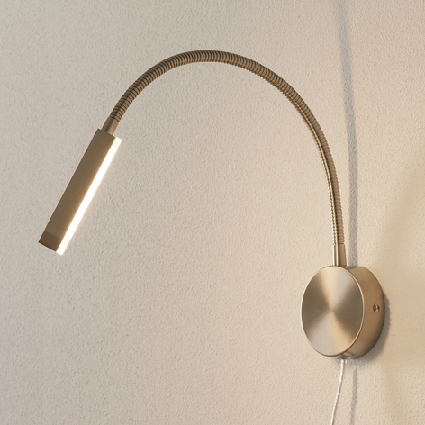 Aplique LED Raik fácilmente atenuable con enchufe