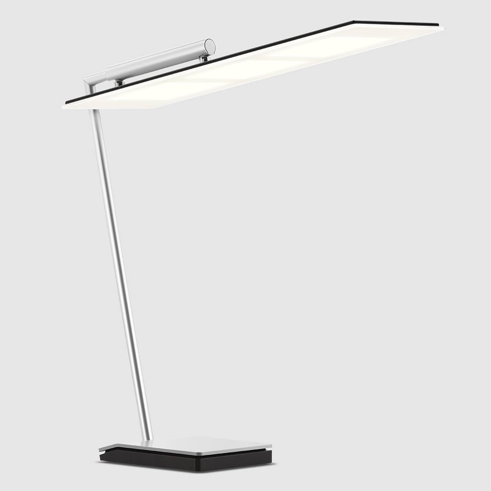 Schwarze OLED-Schreibtischleuchte OMLED One d3