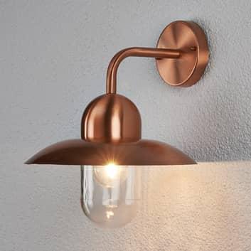 Væglampe Camila, udendørs, kobberfarvet