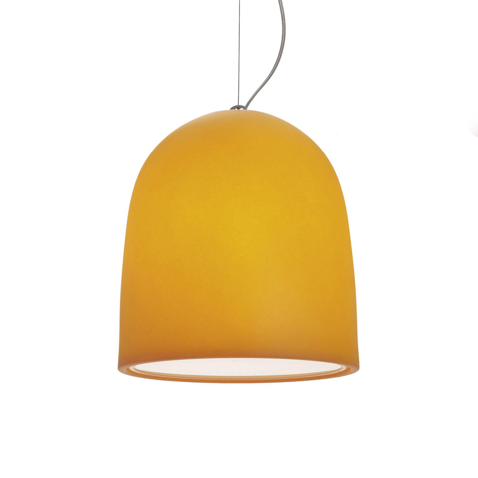 Modo Luce Campanone lampa wisząca Ø 33cm pomarańcz