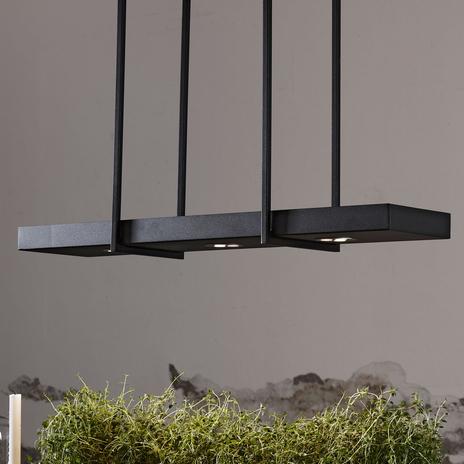Fantazyjna lampa wisząca LED Tray, czarna