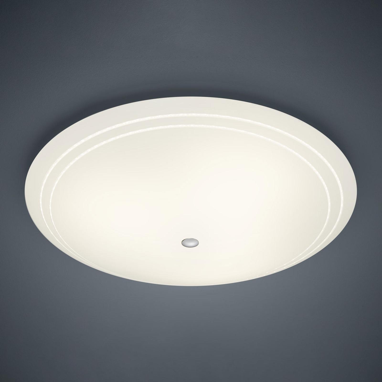 BANKAMP Yanis lampa sufitowa LED szkło, Ø 82 cm