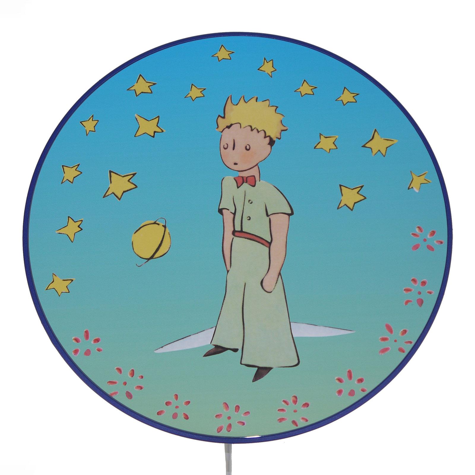 Vägglampa Lille prinsen med mellanswitch