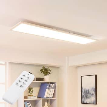 Arcchio Lysander panel LED, CCT 119cm 58W, blanco