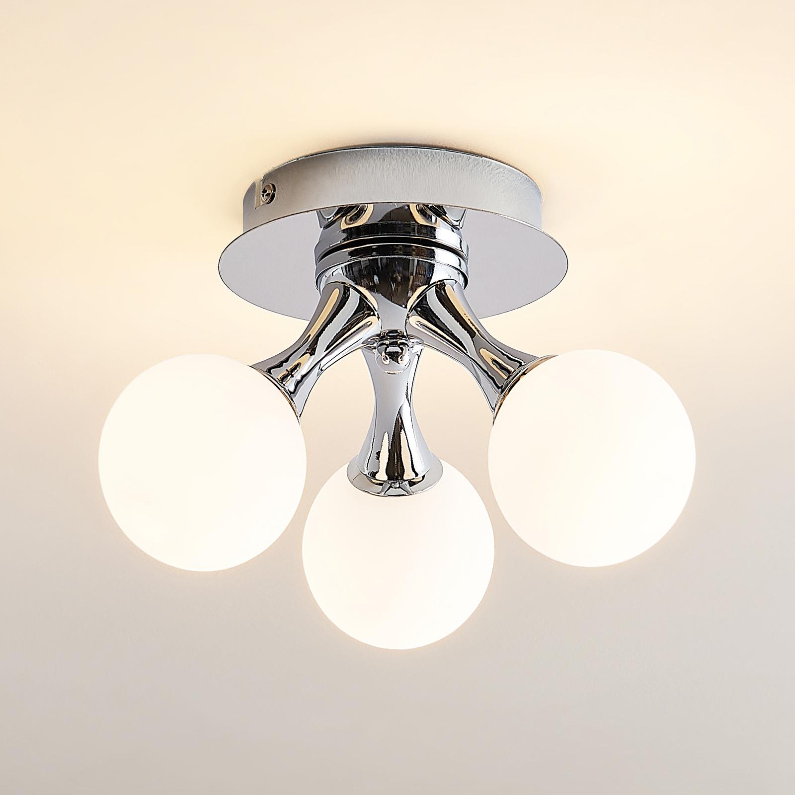 Lindby Chrissy taklampe, 3 lyskilder