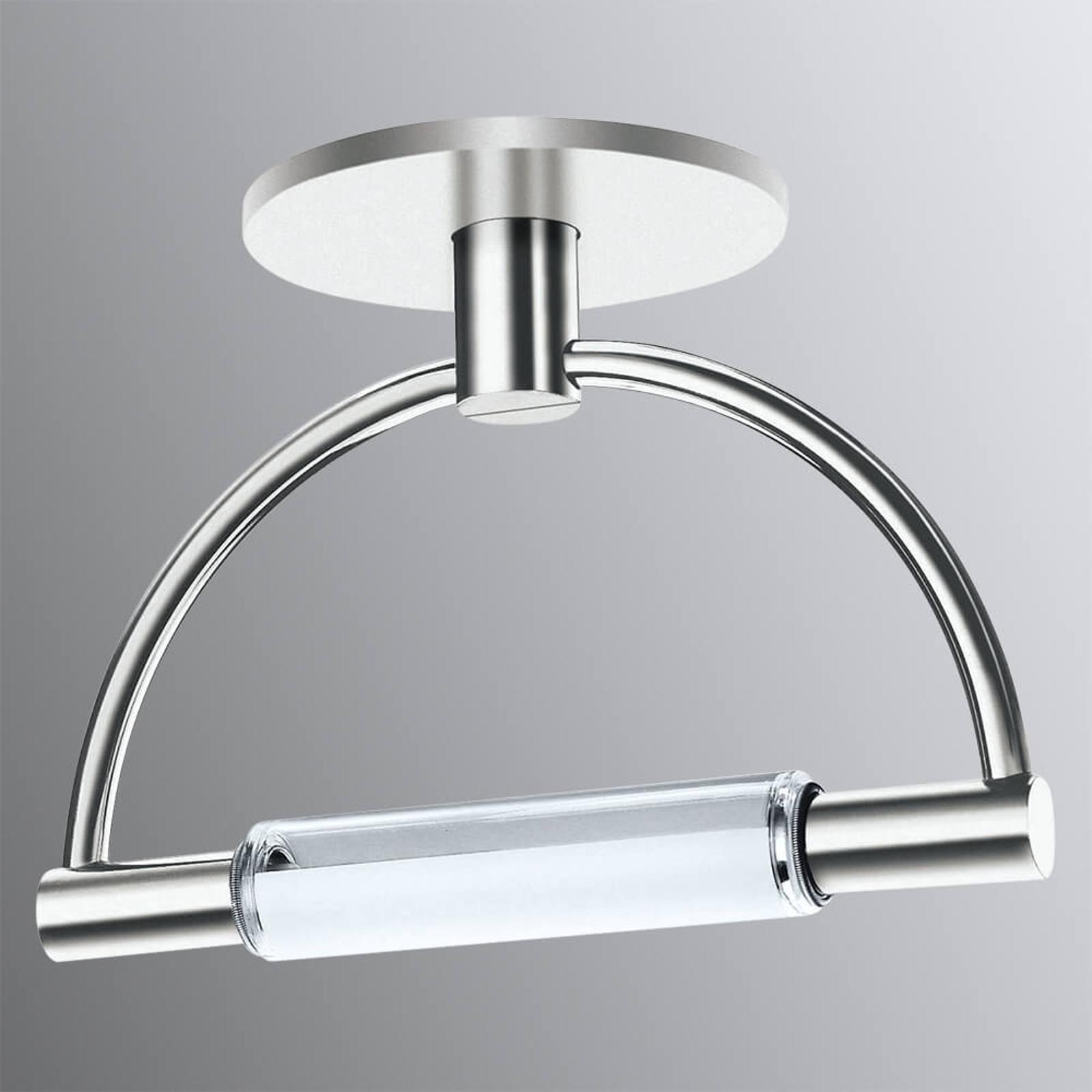 Ultranowoczesna lampa sufitowa LED Gradi z osłoną