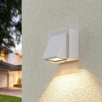 ELC Taloma LED-Außenwandlampe, 1-flammig weiß