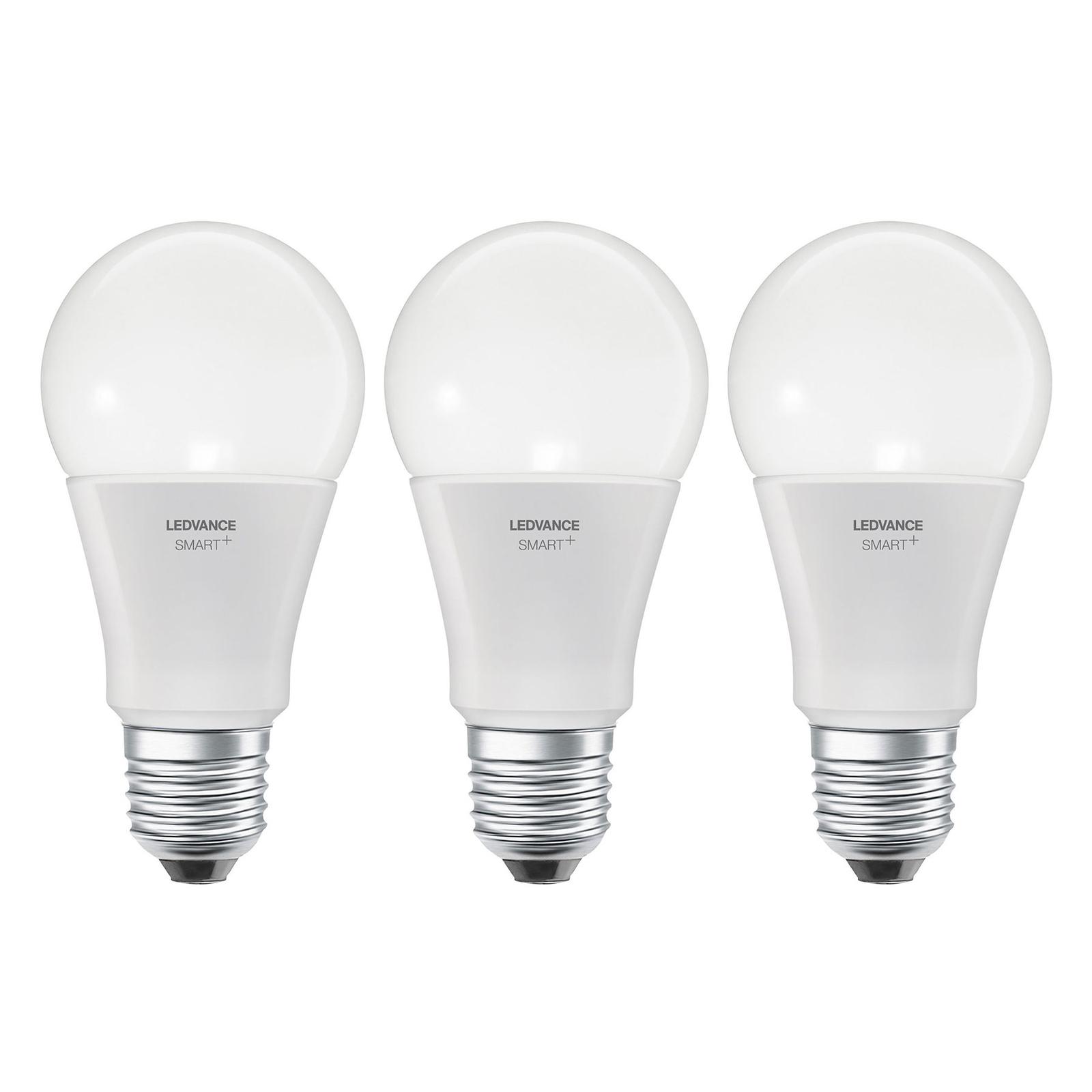 LEDVANCE SMART+ WiFi E27 14W Classic CCT 3-er