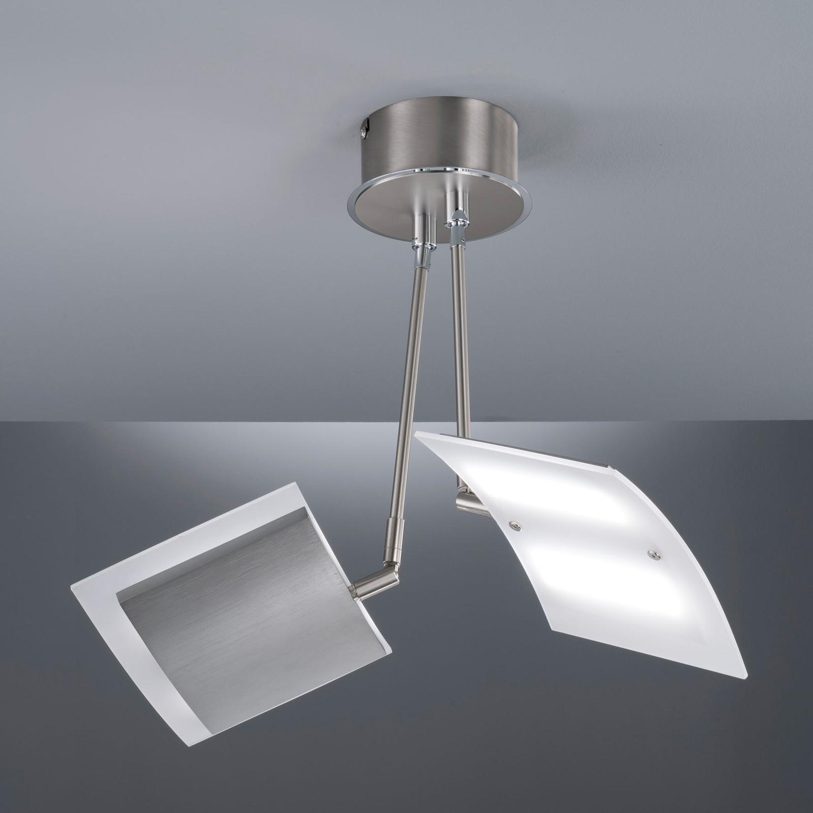 Plafonnier LED Tours, avec télécommande