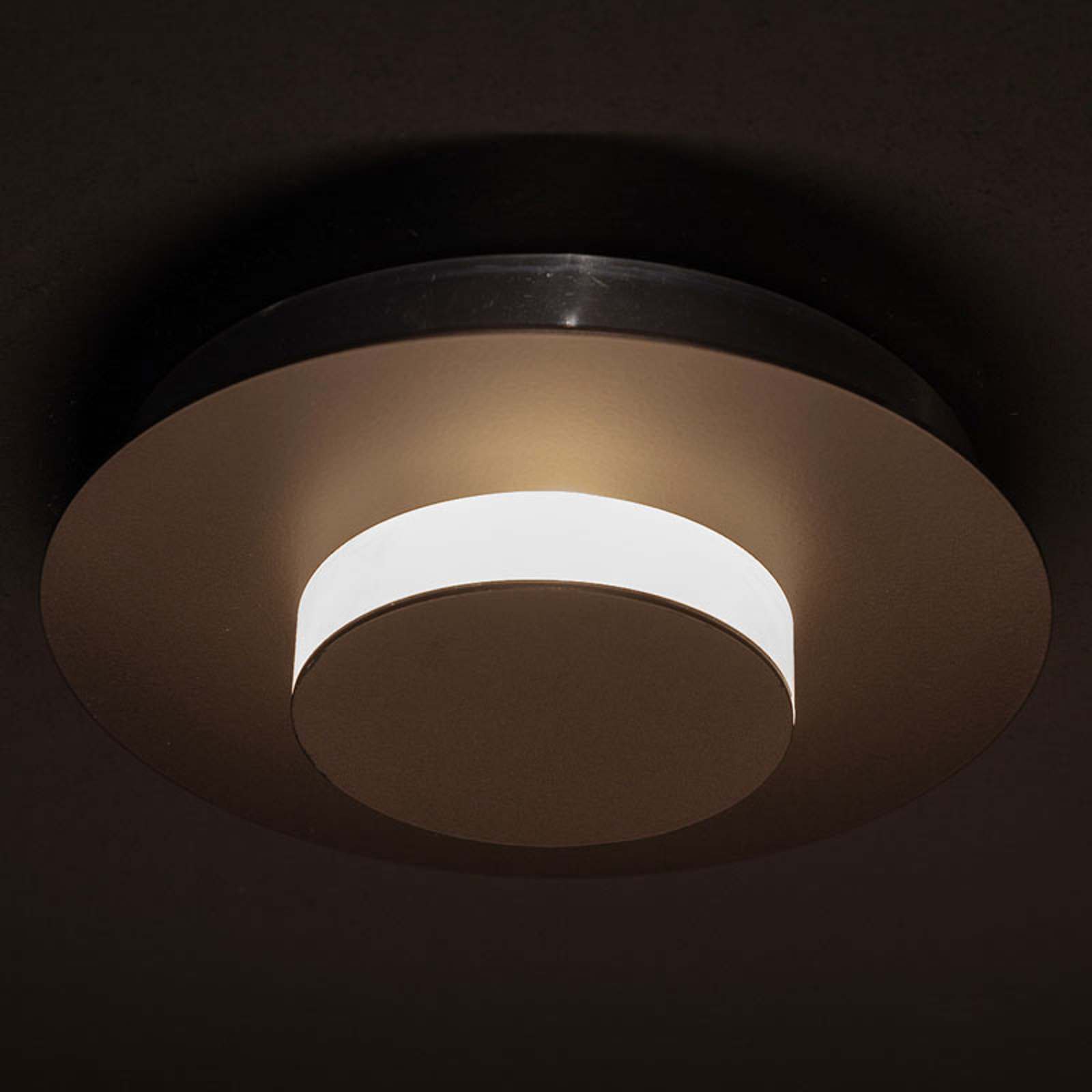 LDM Smarty Shade LED-Wandleuchte, bronze
