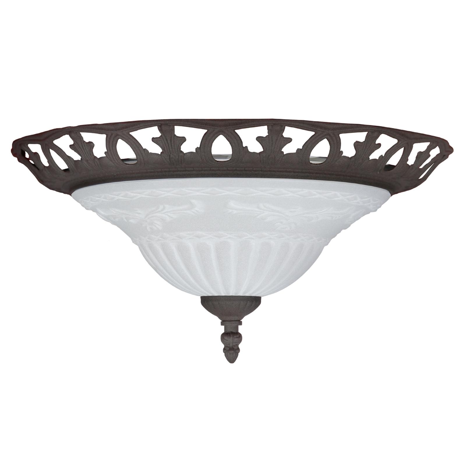 RUST - lampa sufitowa o antycznej stylistyce