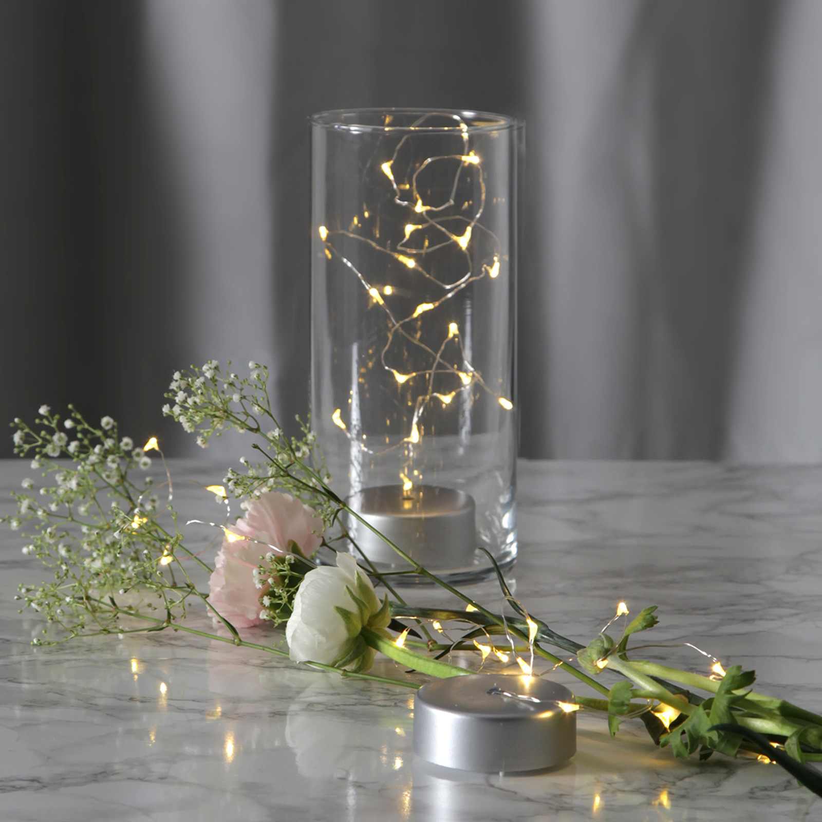 Battery-powered long Dew Drops LED string lights_1523117_1