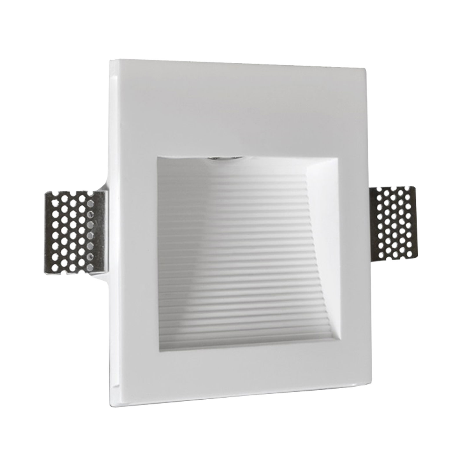Applique encastrable LED Zimant en plâtre