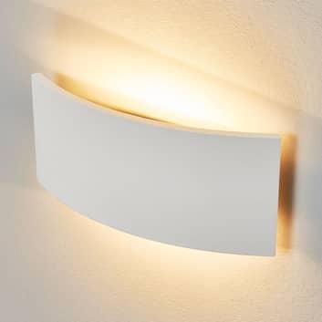 Ponadczasowa lampa ścienna Naike z gipsu