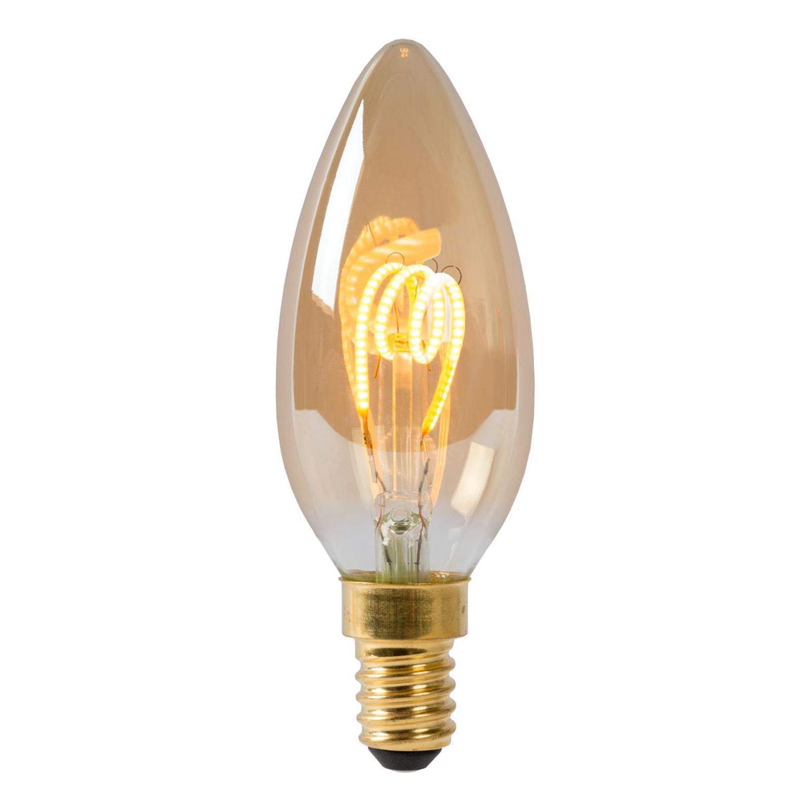 LED-kertepære E14 3W 2.200K, kan dæmpes