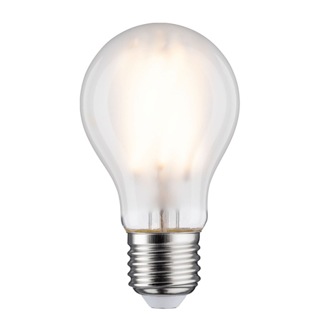 Lampadina LED E27 9W filamenti 2.700K satinato