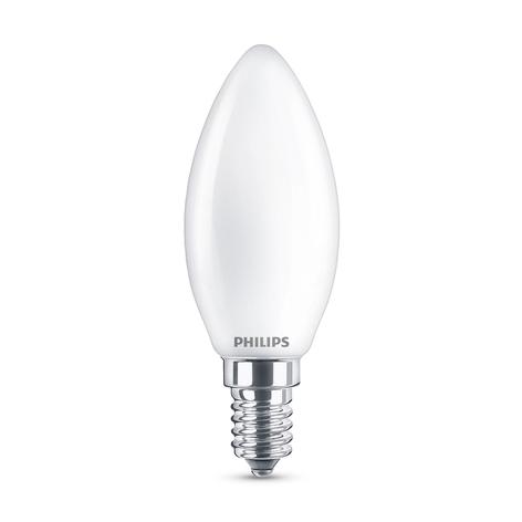 Philips Classic LED E14 B35 6,5W 2.700K satinato