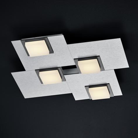 BANKAMP New Quadro plafoniera LED 4 luci