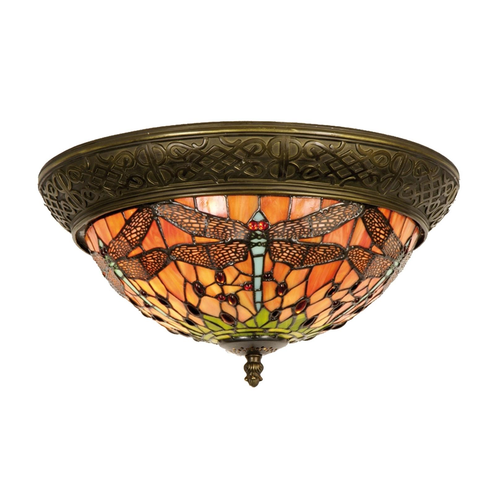Schitterende plafondlamp Bella Tiffany, 38 cm
