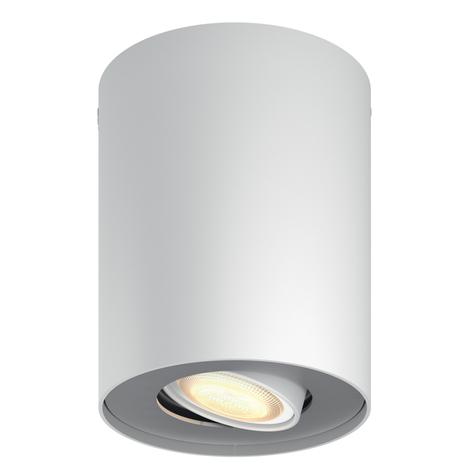 Philips Hue Pillar spot LED avec variateur, blanc