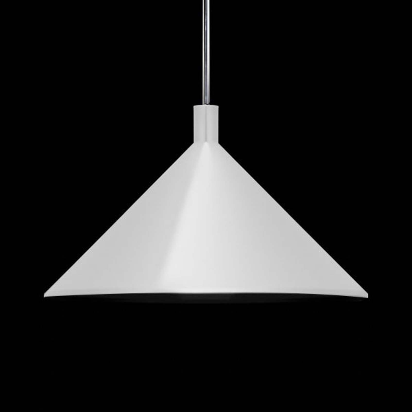 Martinelli Luce Cono suspension blanche, Ø 45 cm