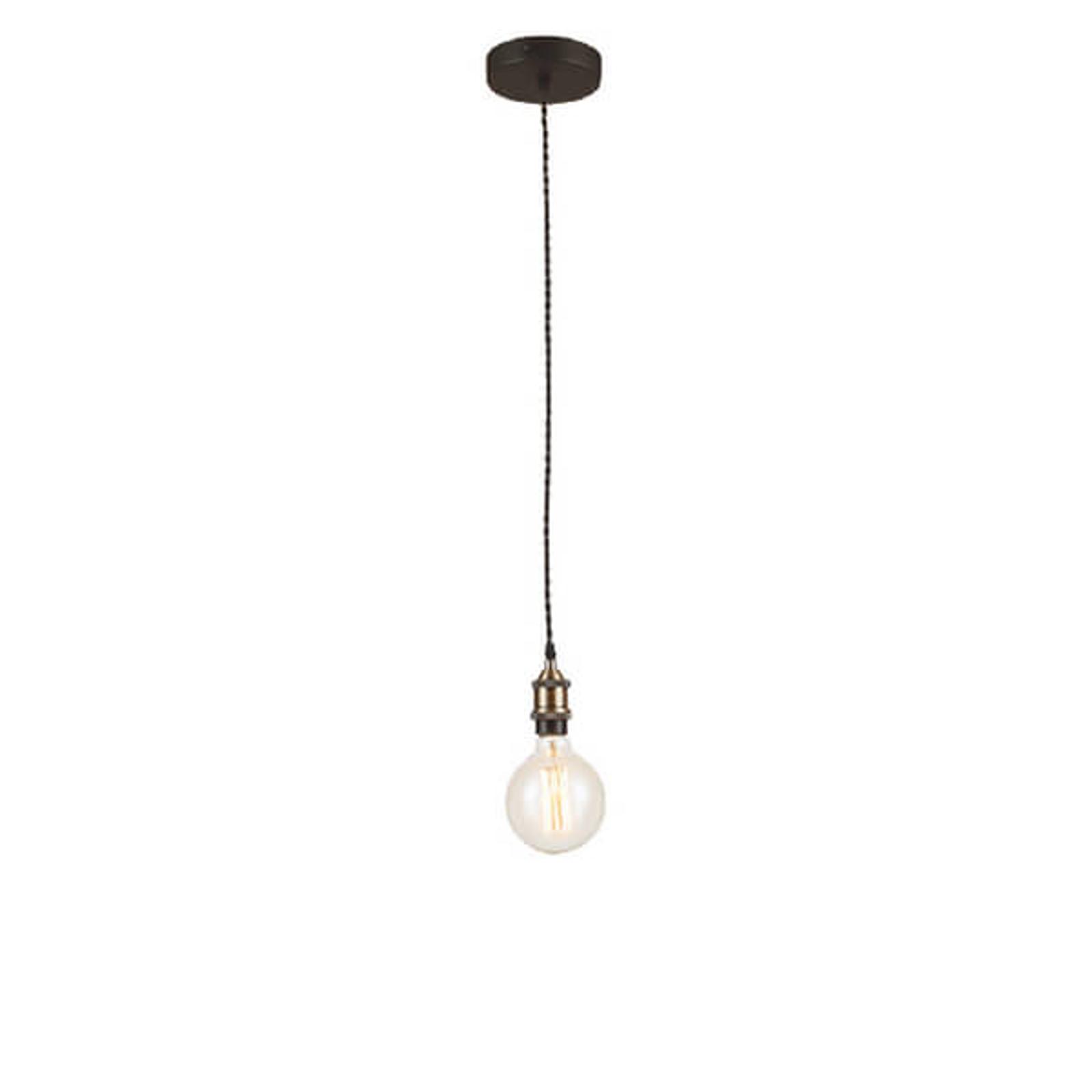 Reduceret hængelampe Vintage med metaltrådsophæng