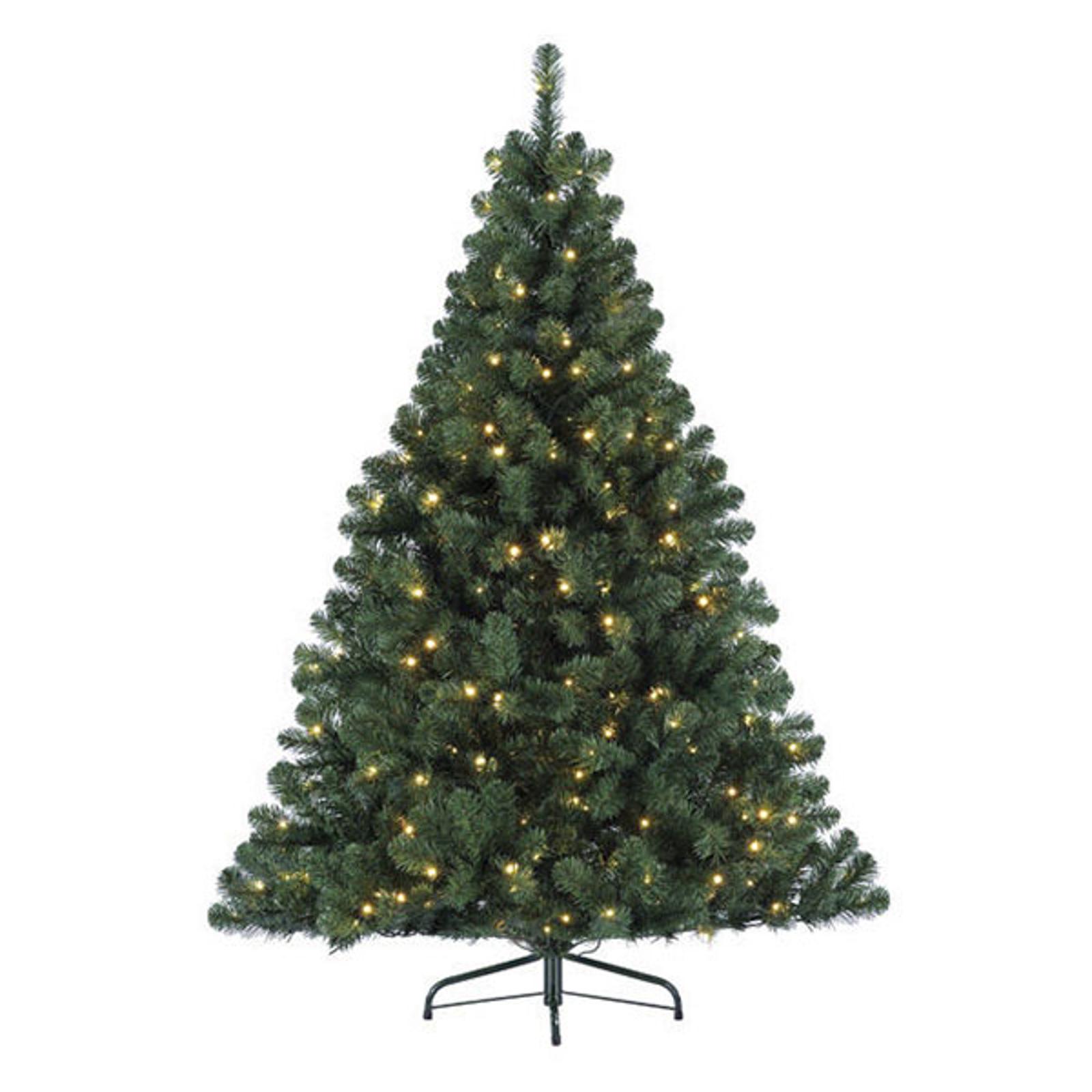 Imperial LED-træ til indendørs, grøn, 210 cm