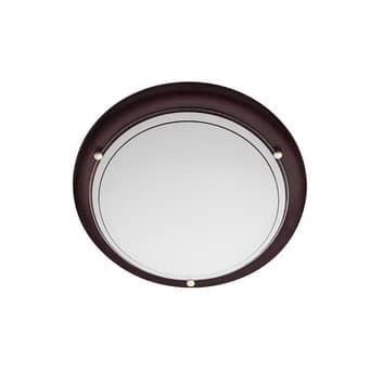 Stropní světlo P1D, Ø 28 cm, wenge