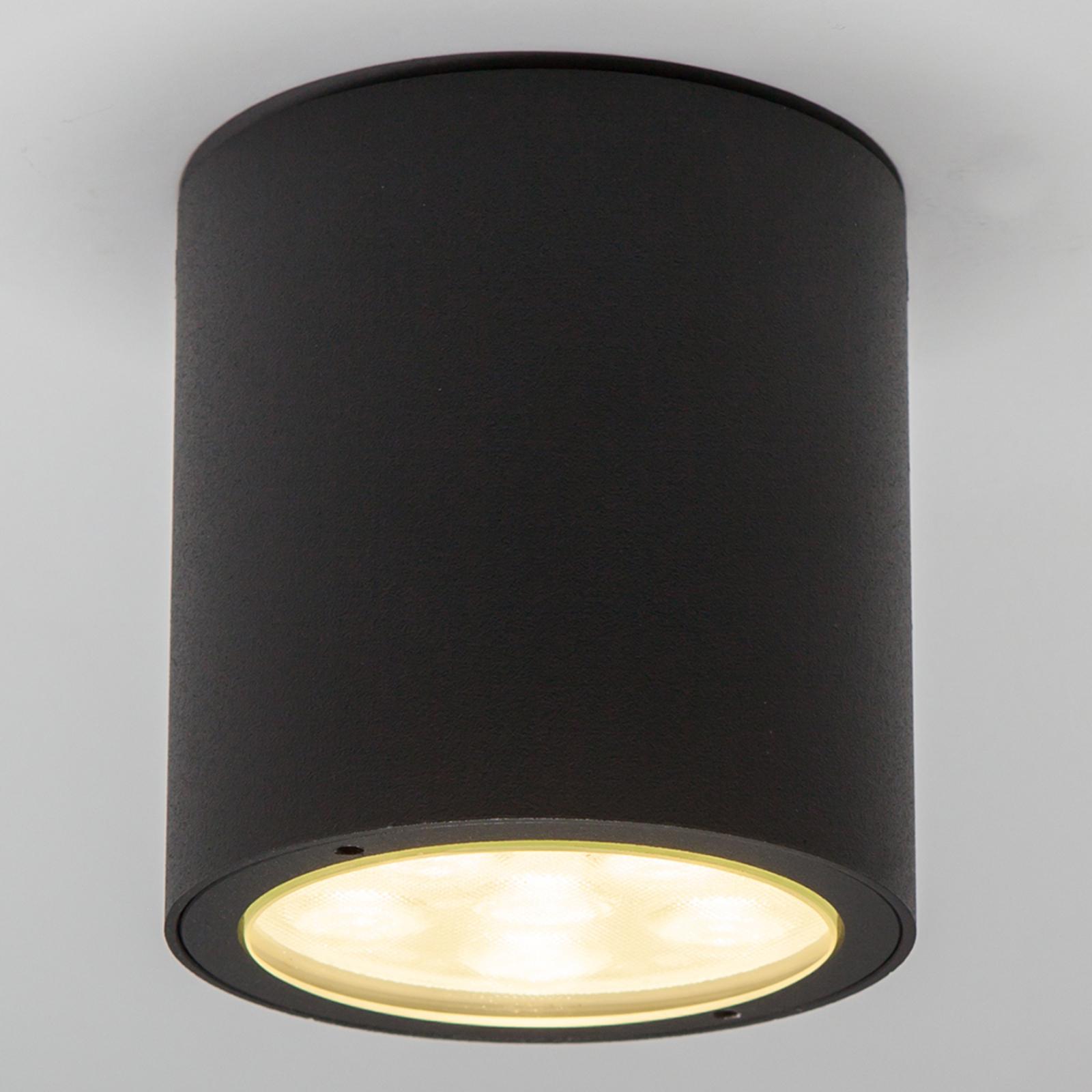 Rund LED-takspot Meret til utebruk, IP54