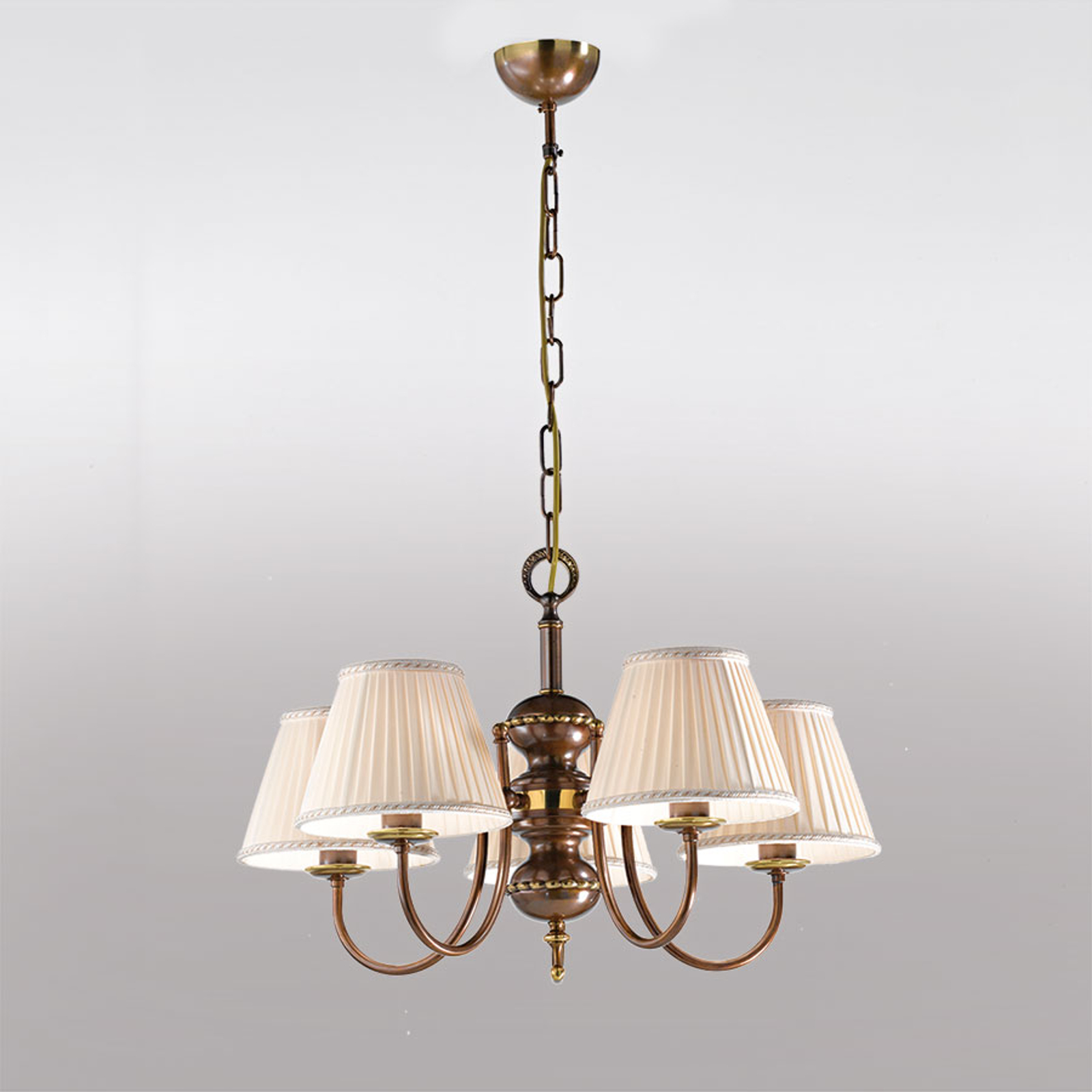 5-punktowa lampa wisząca Classic