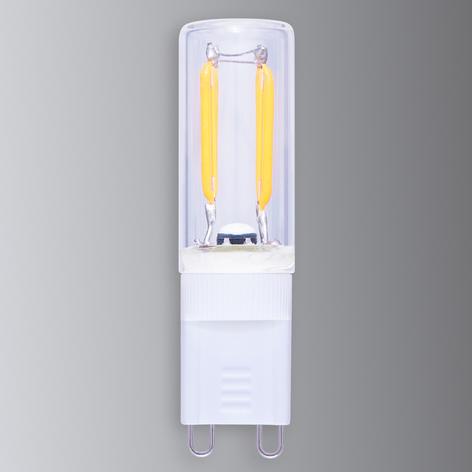 Bombilla LED casquillo G9 1,5W 926 dis. fil. carb.