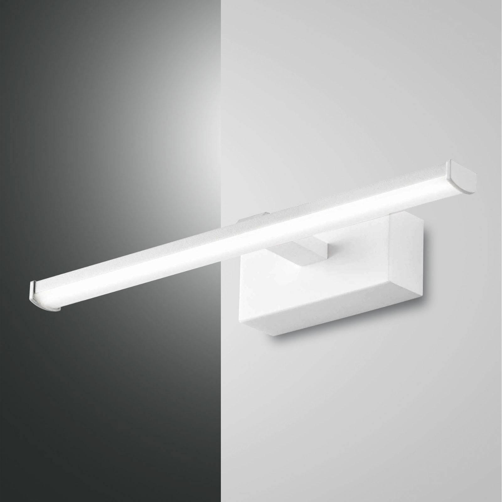 LED wandlamp Nala, wit, breedte 30 cm