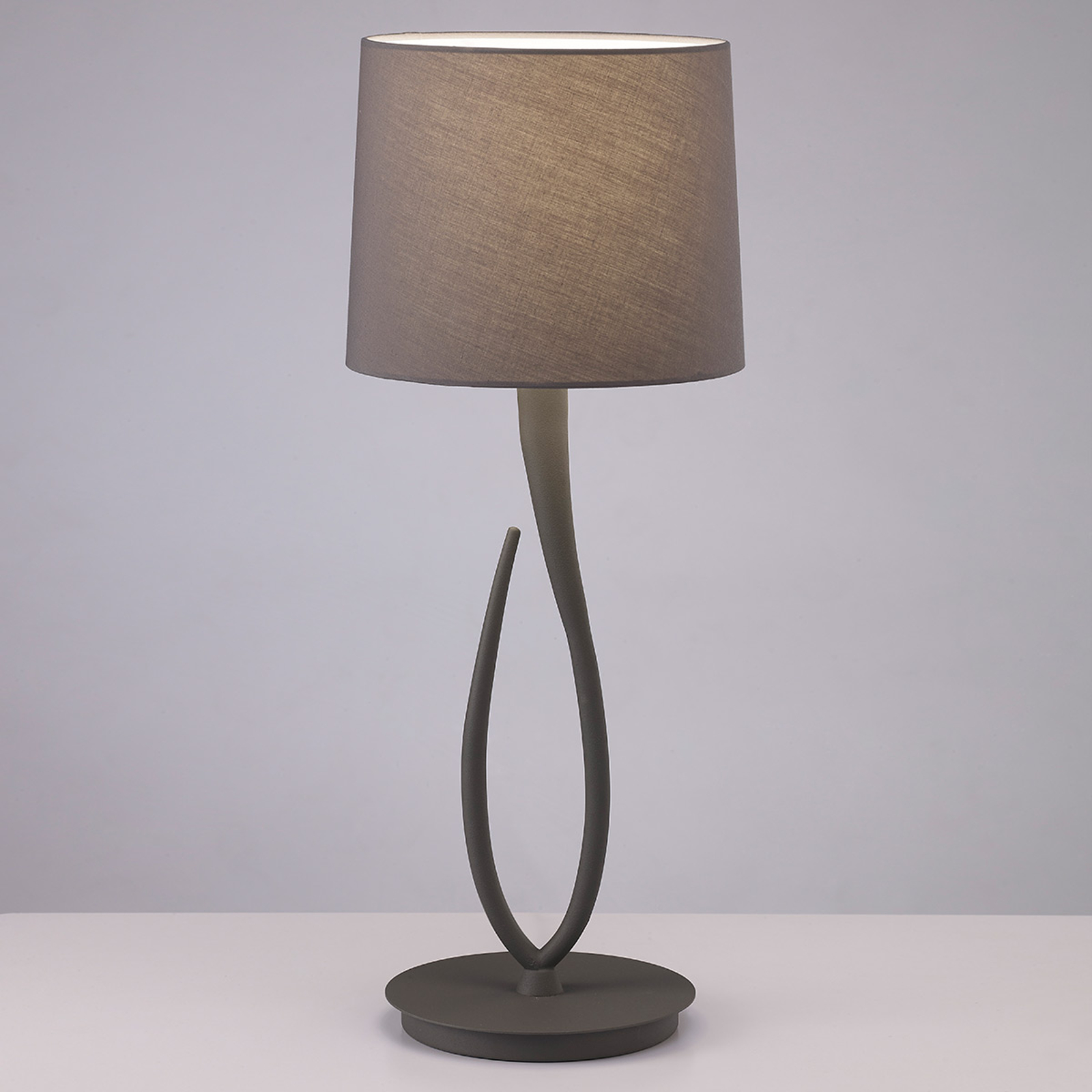 Lua - tafellamp met textiele kap, 25 cm