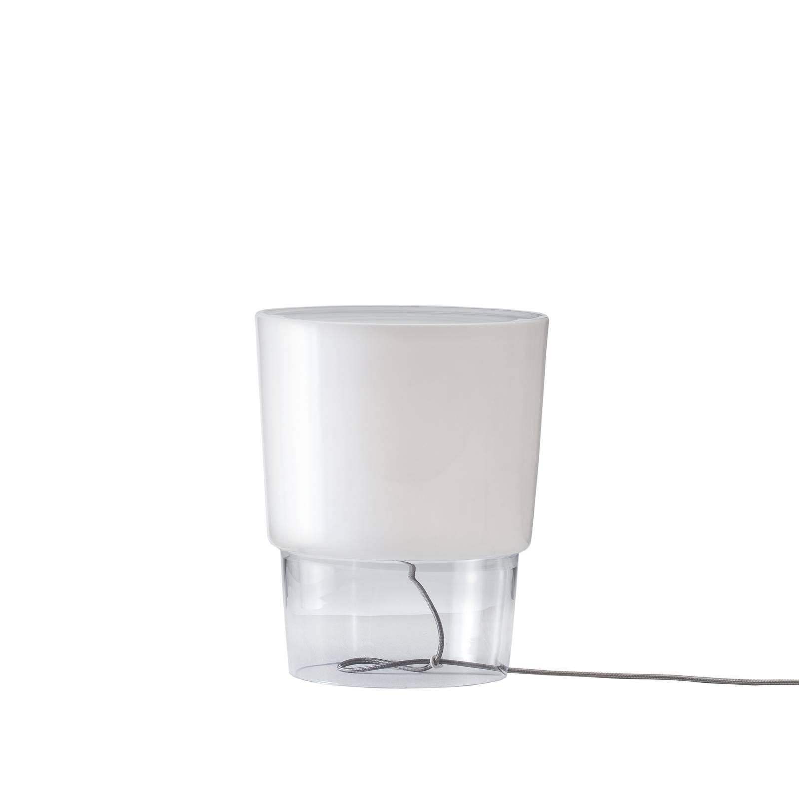 Prandina Vestale T3 lampe à poser blanche/claire