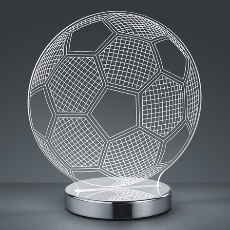 Lampe à poser hologramme 3D Balle couleur réglable