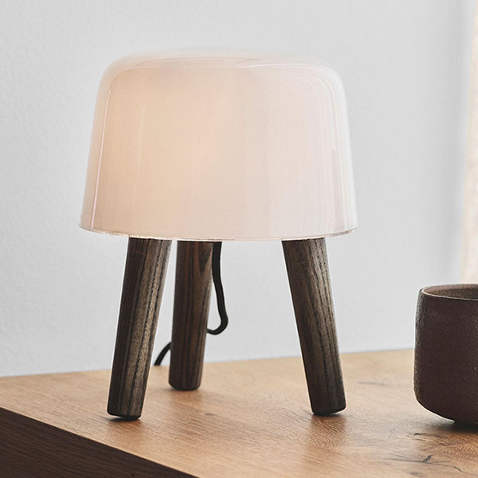 &Tradition Milk NA1 stolní lampa, jasan olej