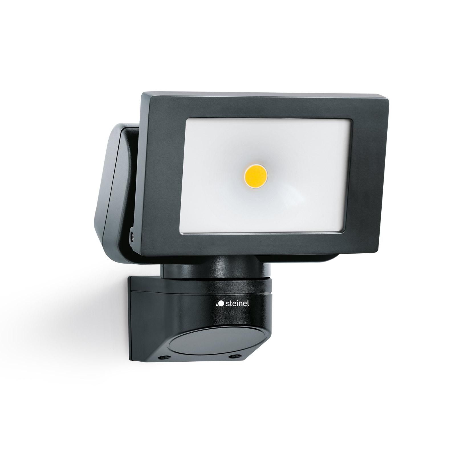 STEINEL LS 150 M utendørs LED-spot, svart