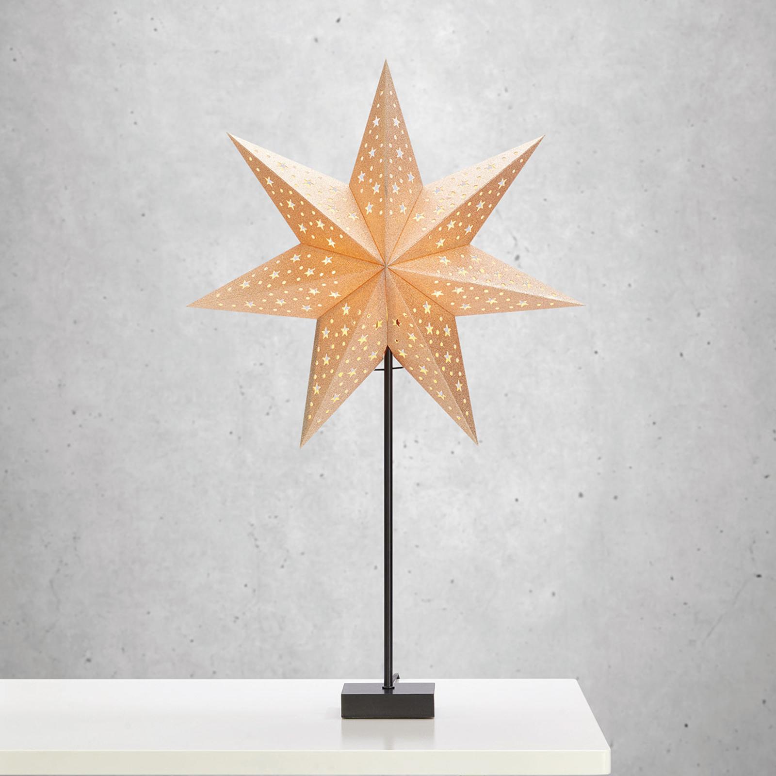 Stående stjerne Solvalla - højde 69 cm
