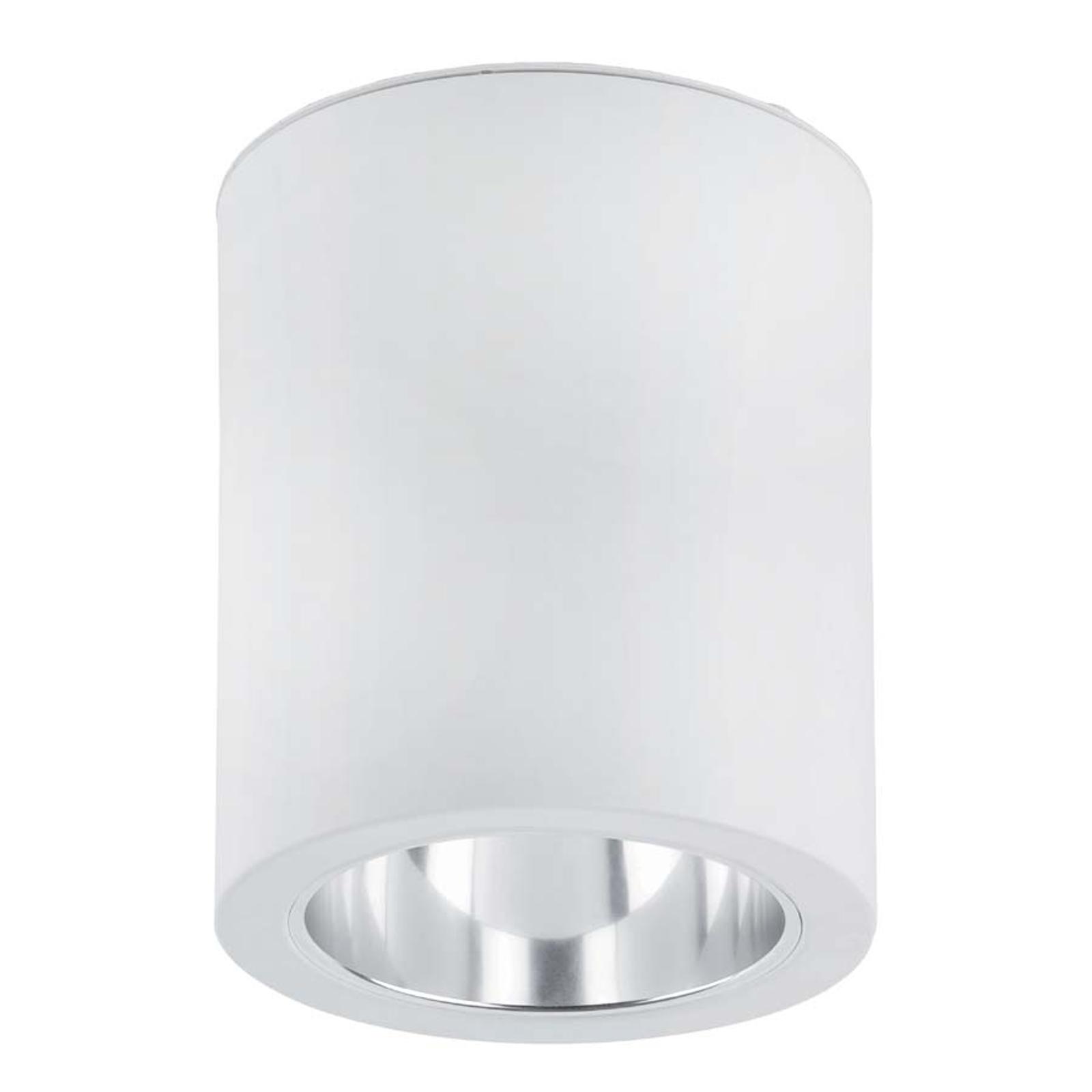 Plafonnier esthétique Pote-1 en aluminium blanc