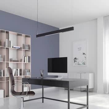 Arcchio Ingura LED závěsné světlo kancelář, černá