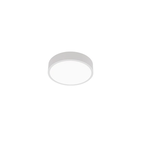 Plafonnier LED C90-S, Ø 42cm, 3000K, blanc