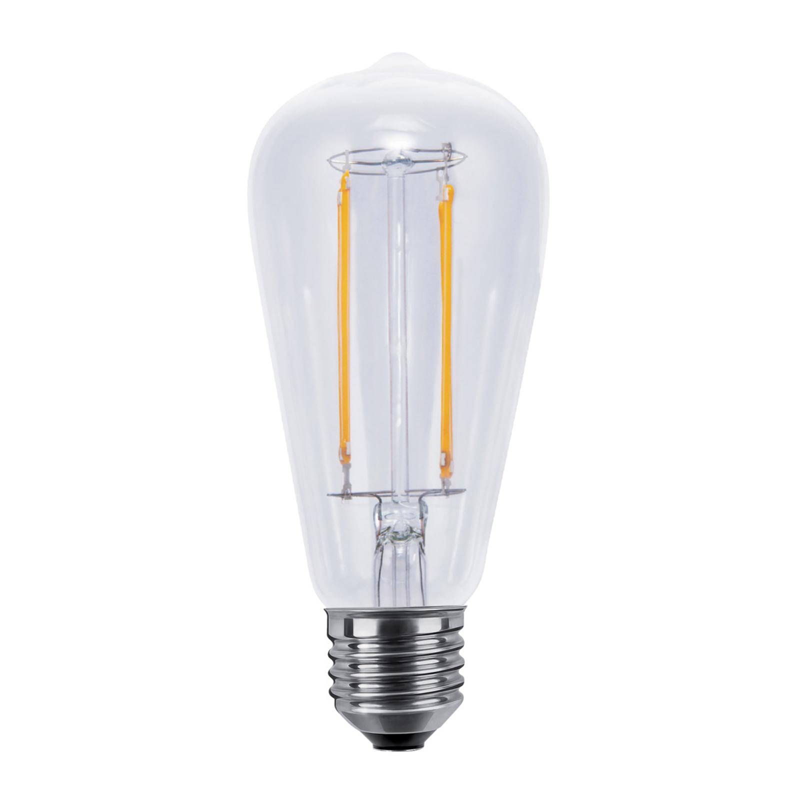 E27 6W 926 LED-Leuchtmittel Rustika dimmbar