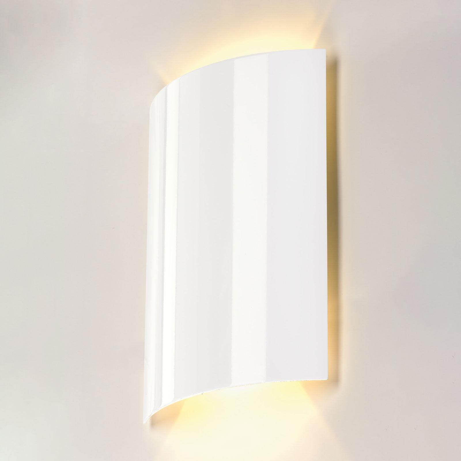 SLV Sail LED-Wandleuchte zweiflammig 30 cm weiß