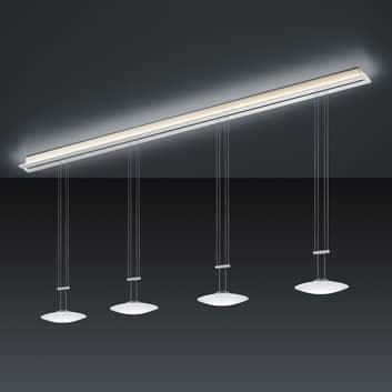BANKAMP Strada Orbit závěsné světlo, 4x, 185 cm