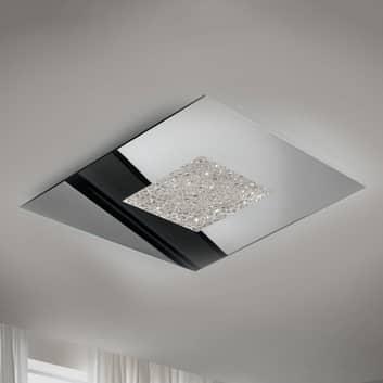 Speilende LED-taklampe Narciso i isutførelse