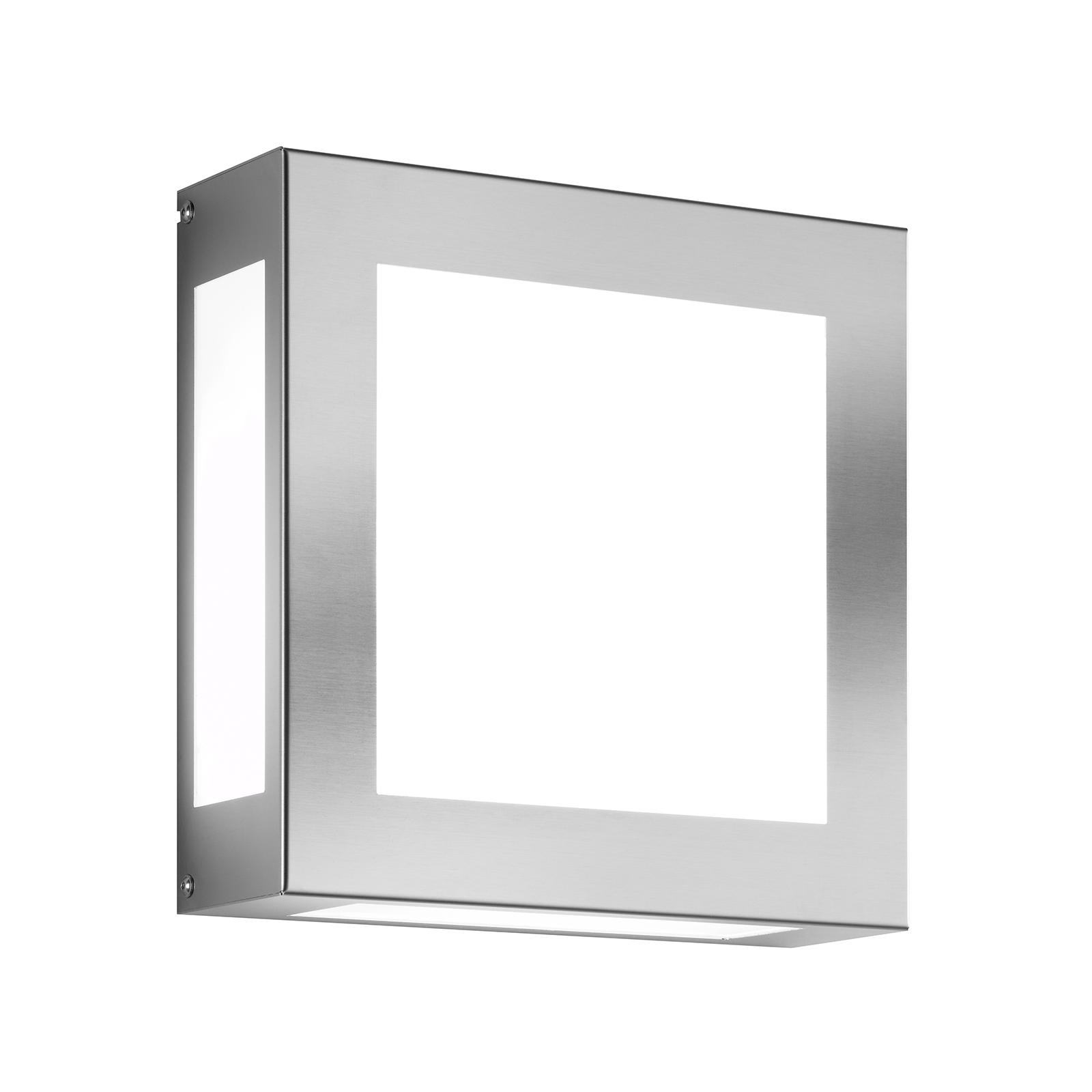 LED buitenwandlamp Aqua Legendo, roestvrijstaal
