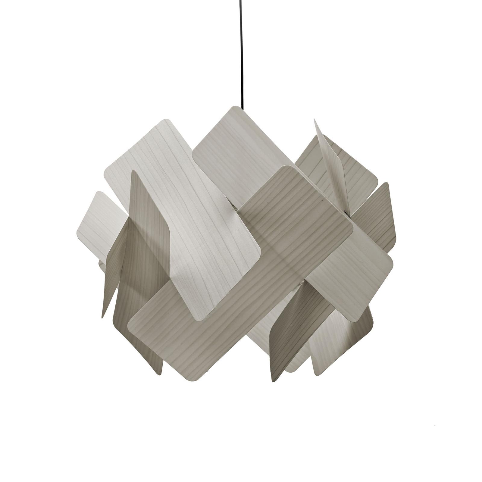 LZF Escape závěsné světlo, Ø 40 cm, šedá