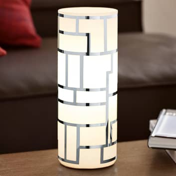 Lampe à poser cylindrique Bayman