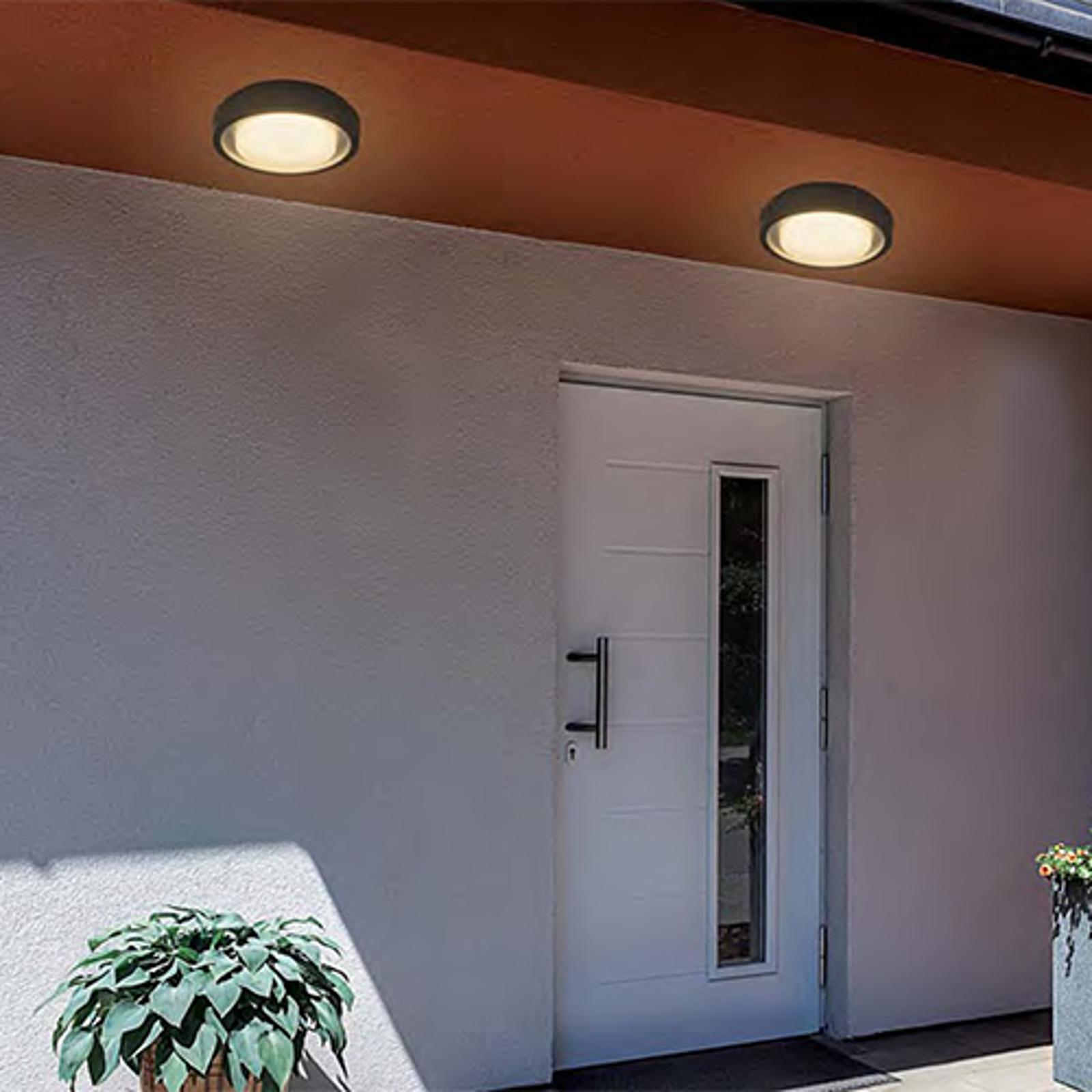 Compra Lámpara Led De Techo Para Exterior Toki Sensor Lampara Es