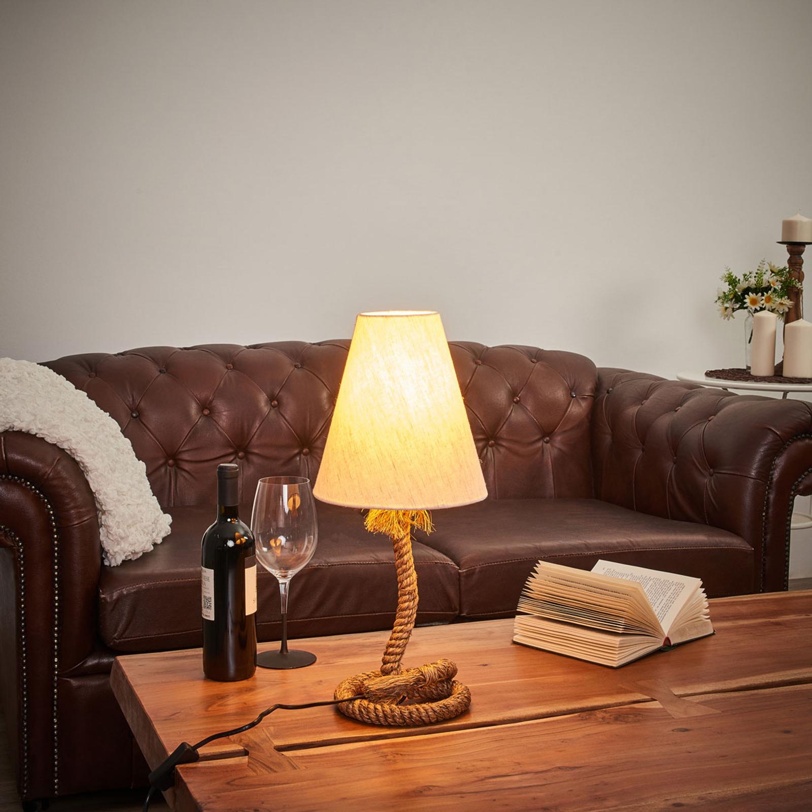Acquista Lampada Da Tavolo Victoria Stile Marinaro 18 Cm Lampade It